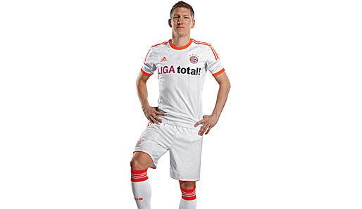 [BNWOT] FCBayern munchen jersey original putih orange (away 2012-13) [BU]