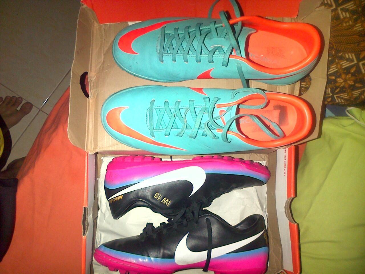 Nike Mercurial Rainbow CR7 size 42 , udh Rare nih , Murmer !!