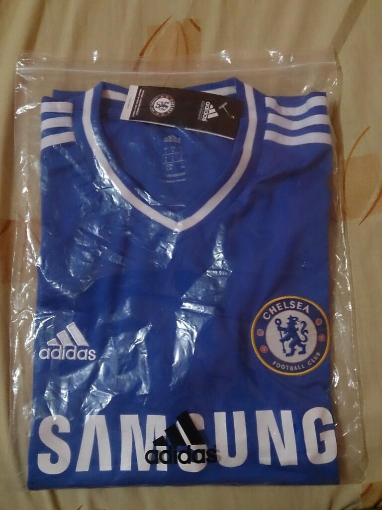Jersey Chelsea 2013-2014 grade ori size L COD Bogor