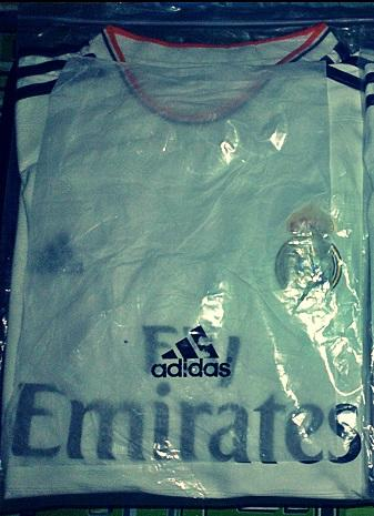 jersey real madrid home 2013