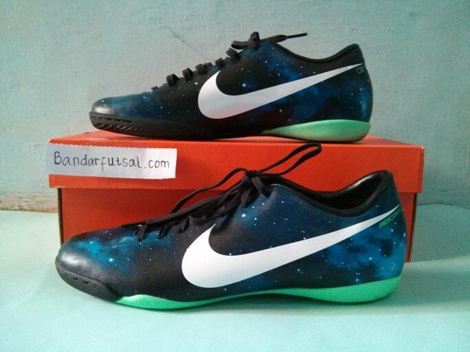 Jual sepatu futsal Nike Mercurial victory IV CR IC dark obsidian galaxy original
