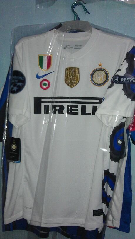 WTS : Inter Milan KW Thai 07 JZ4 dan Inter Away 2010 (Naga) JZ4 full patch