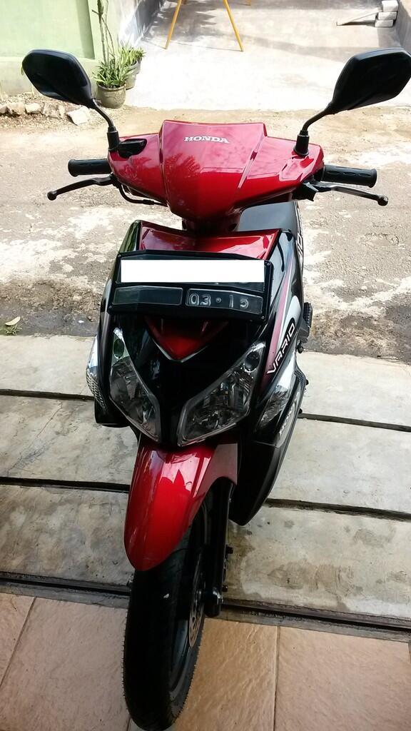 Honda Vario Merah 2010 Kondisi Mulus