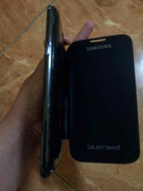 SAMSUNG GALAXY NOTE 2 N7100 HITAM BATANGAN