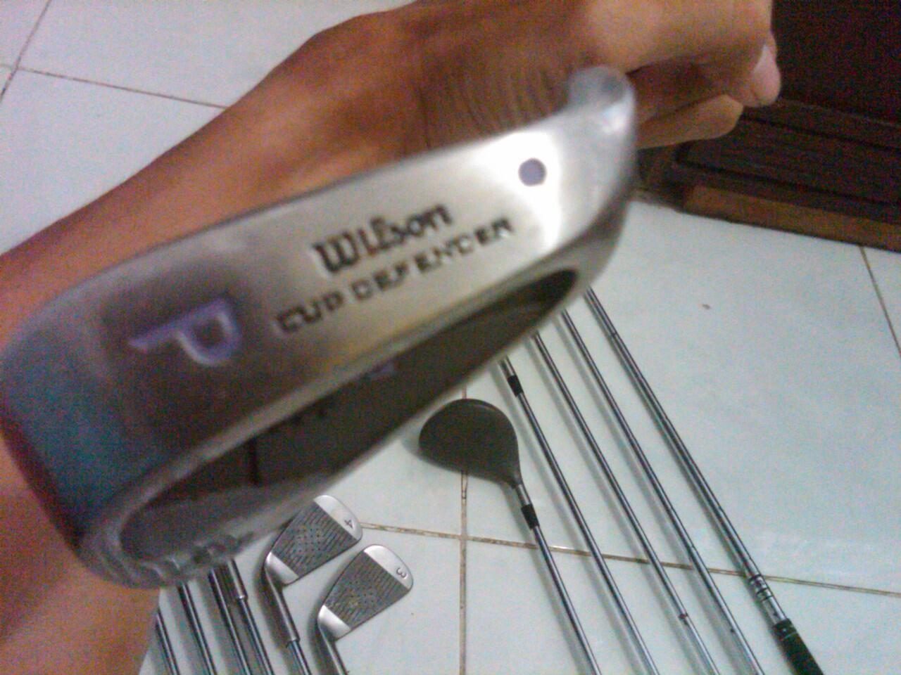 jual 1 set stick golf wilson
