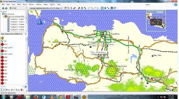 Sewa GPS Garmin Murah Lokasi Tangerang
