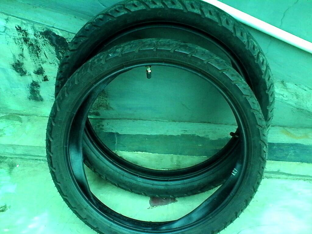 Jual Ban Ori Suzuki Hayate 125 (Ban luar 16 inci ori merk Dunlop) [Bekasi]