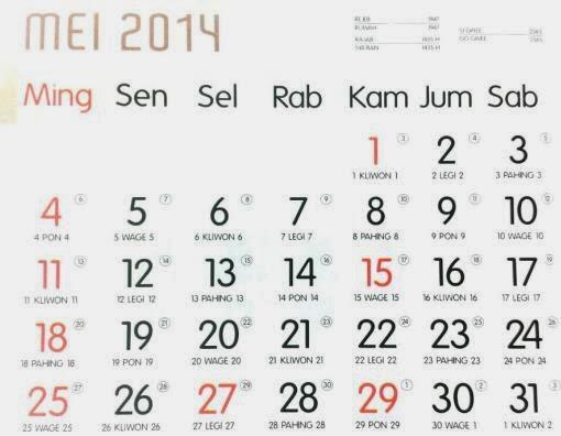 Bulan yang paling di tunggu di 2014