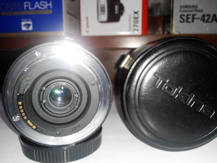 WTS Lensa Wide AF Tokina 20-35 f35-45 EOS murahh.... posisi MALANG