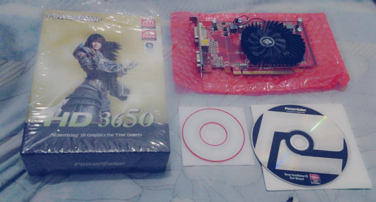 Jual VGA PowerColor HD3650 512MB 128bit Murah
