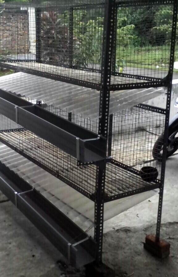 Terjual Terima Pembuatan Kandang Kelinci Kucing Burung