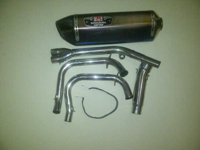 knalpot yoshimura titanium r77 FS ninja 250 FI