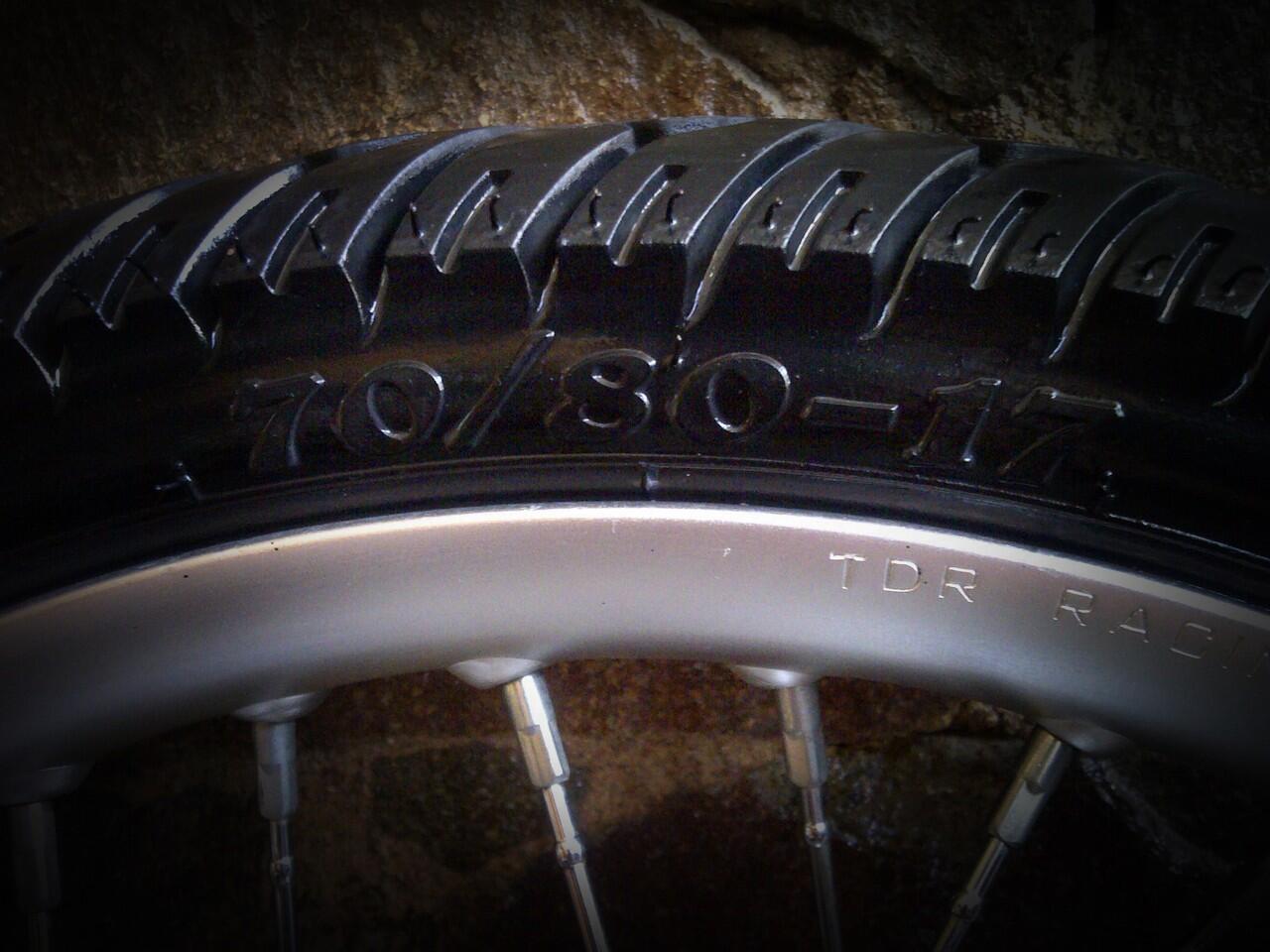 WTS Velg TDR U-Shape full set ex Honda matic
