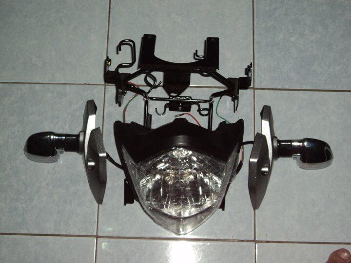 headlamp vixion 2010