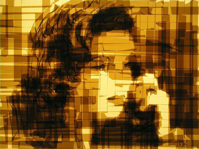 ~๑๑.Karya Seni Menggunakan Selotip oleh Mark Khaisman..๑๑~