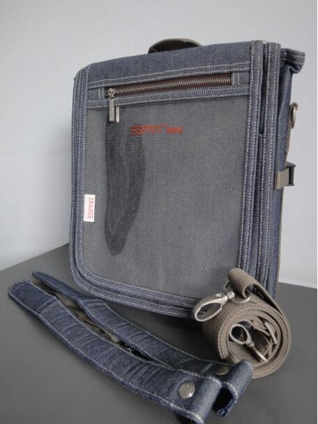 Terjual Tas Denim ESPRIT with 3-Way style ( handcarry 62d4ddacac