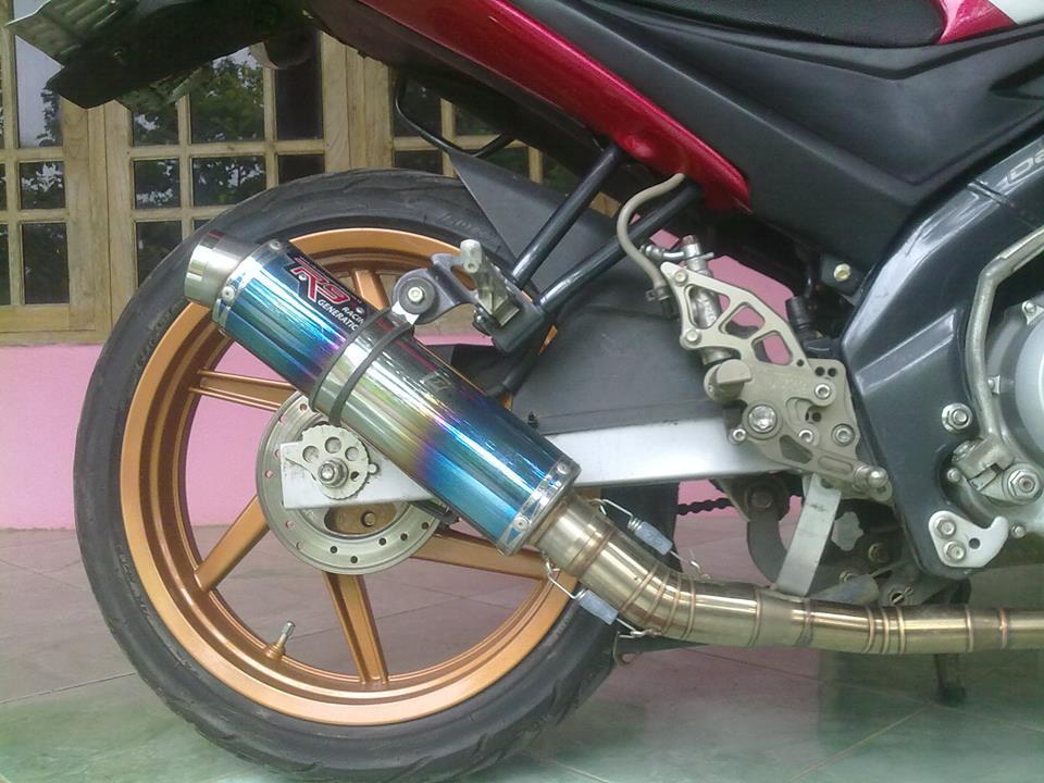 knalpot R9 for vixion