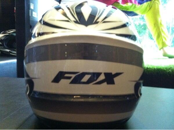 Helm fox original