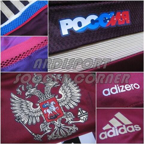 [Ready Stock] Jersey RUSSIA World Cup 2014 Grade ORI
