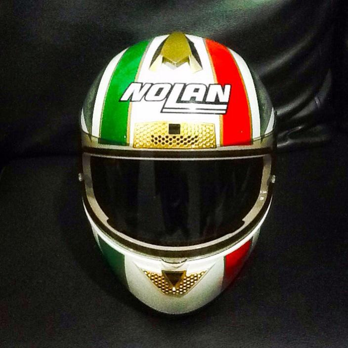 Dijual HELM NOLAN N63 PATRIOT plus VISOR SMOKE BROWN
