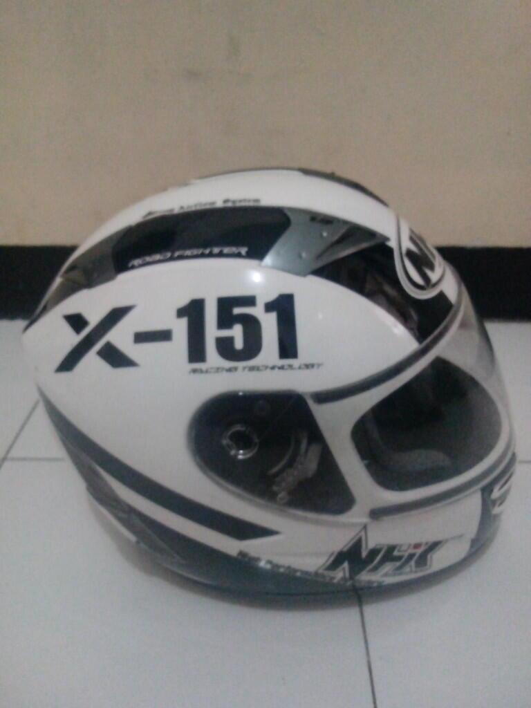 Helm NHK Terminator X-151 Mulus 99% Jarang Pakai