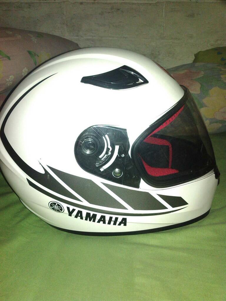 Helm Motor Vixion Baru Buka Dus