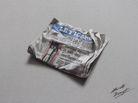[Speed Drawing by Marcello Barenghi] Seni gambar dengan pensil warna yang mengagumkan