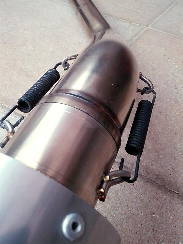 [WTS] Knalpot DBS Stainless bulet for CBR 150 (mulusss, rare)