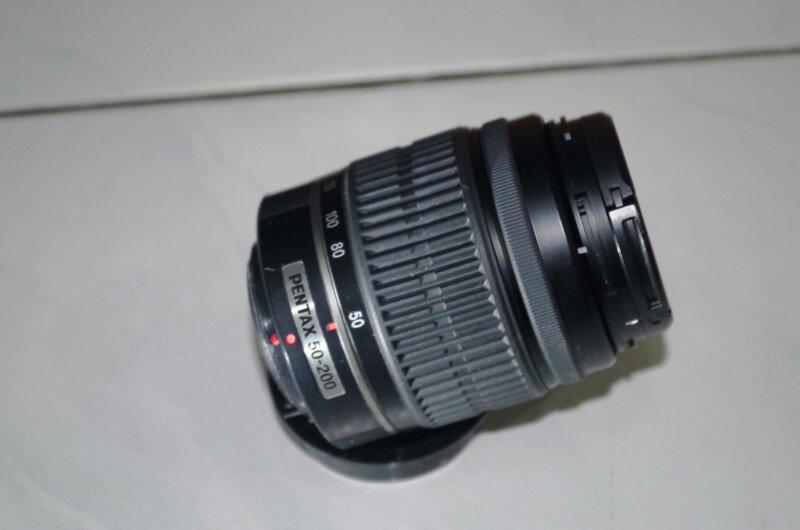 Lensa Pentax SMC DA L 50-200