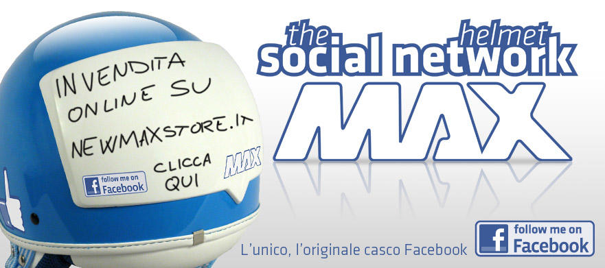 2nd New Max The Social Network Helmet Mulus Muraaahhh