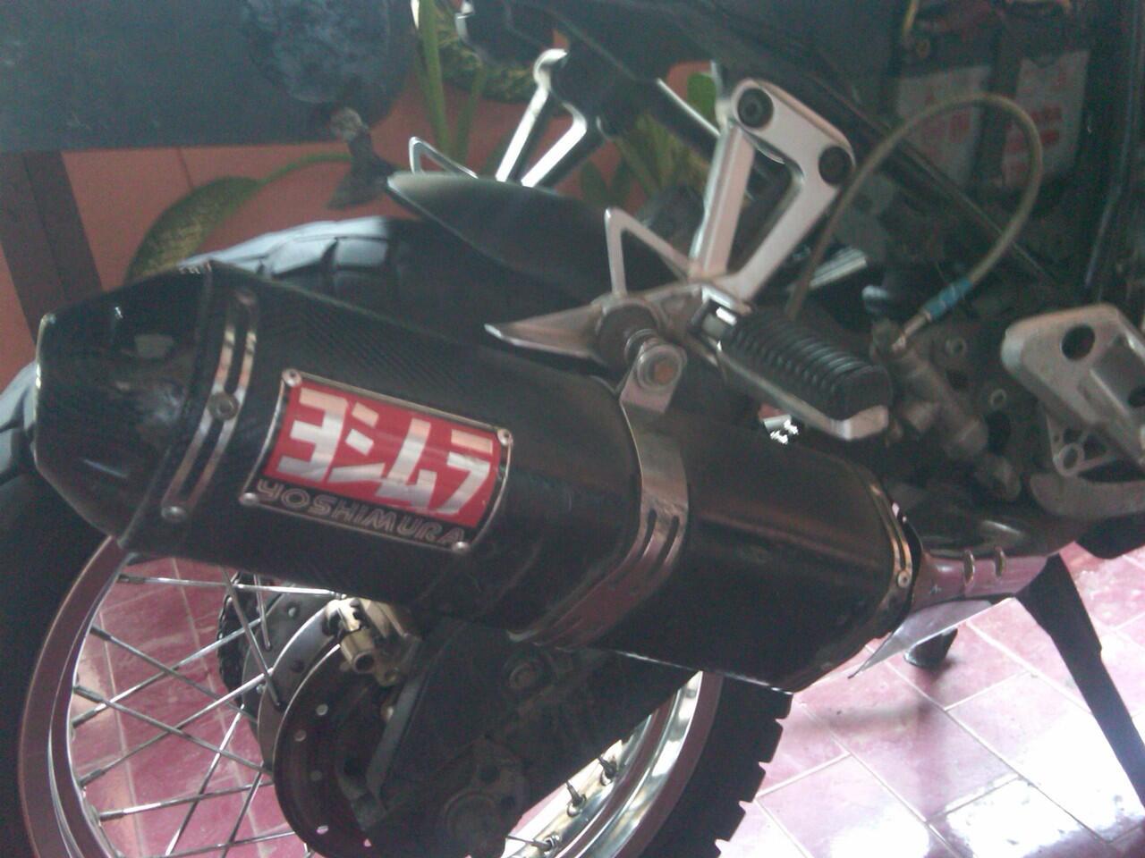 Knalpot Yoshi buat 250cc