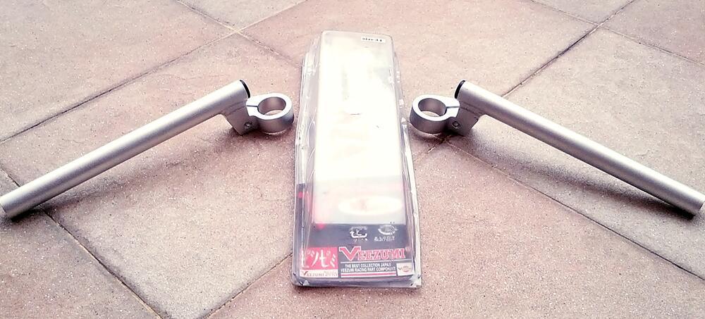 [WTS] Stang jepit duralium Veezumi 31mm (CBR 150, tiger) new, ga jd pake..