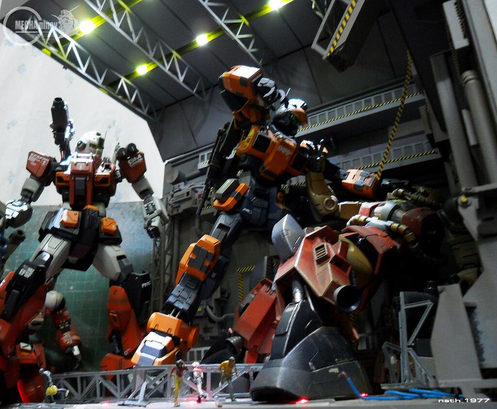 Diorama Gundam (+Pict)