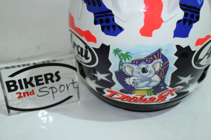 [Bikers2ndsport] FS : ARAI DOOHAN Koala RR5 sz M. Lengkap LIKE NEW CONDT