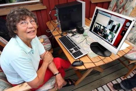 Nenek ini bisa download 40GB per detik