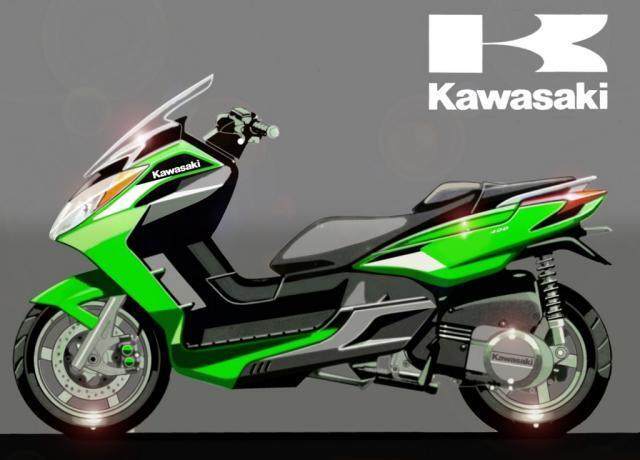 Motor Matic Terbaru KAWASAKI J 300 [ NINJA MATIC 300cc ]