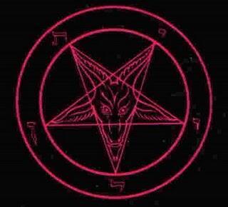 agan tau simbol setan yang mungkina ada di sekita kita ? jika tidak masuk