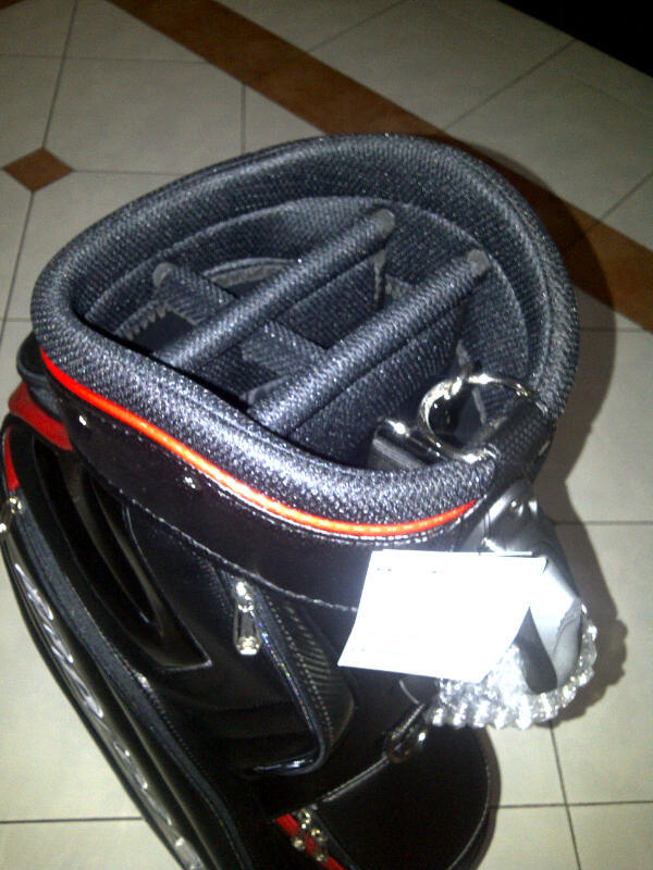 WTS Yamaha Inpres X Golf Bag (Black-Red)
