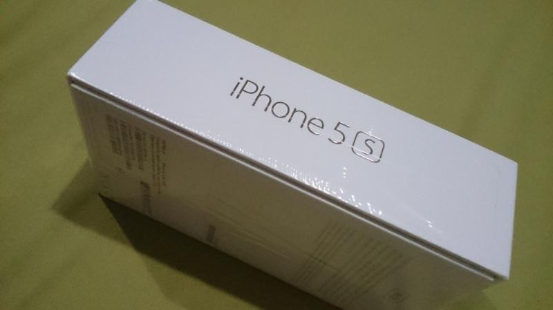 Bnib Iphone 5s 16gb Gold murah...( malang surabaya)