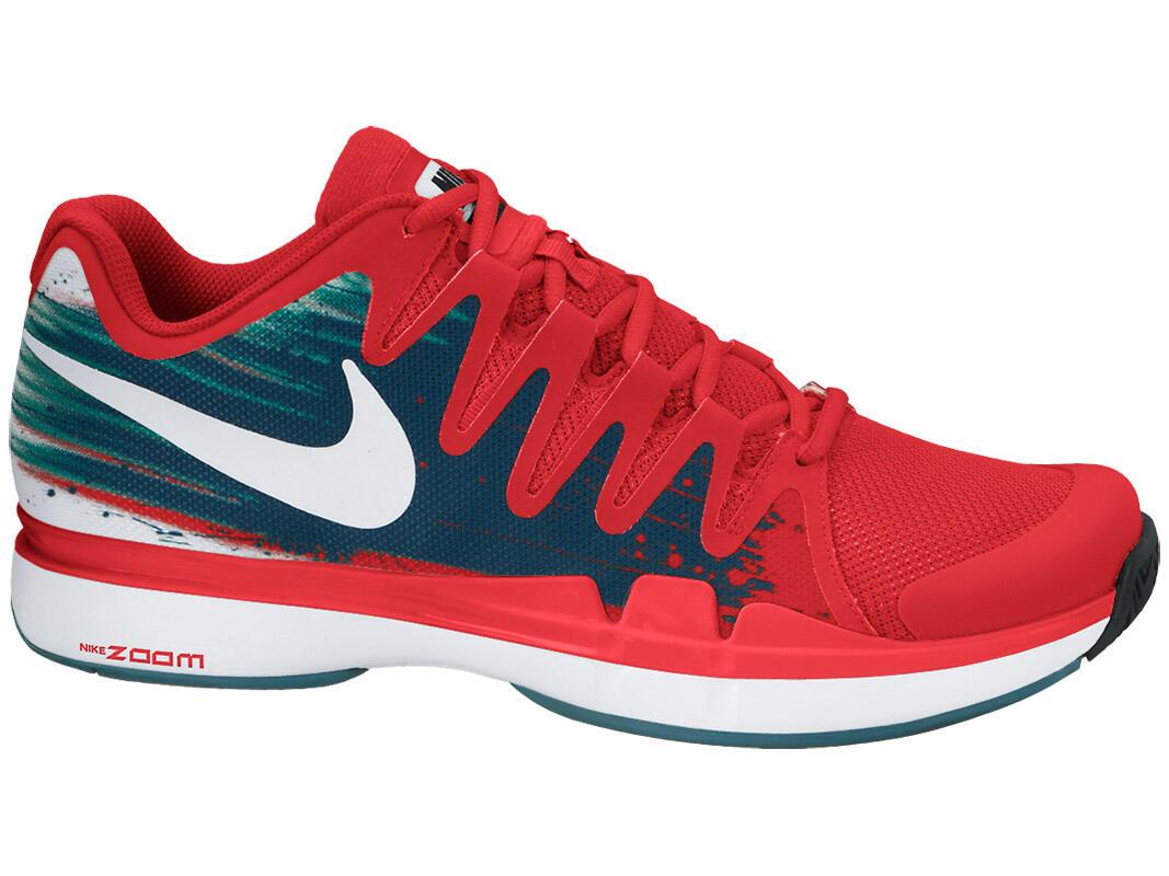 SePaTu Tenis Nike VAPOR 9.5 TOUR mEn s TeNnis sHoEs rEd bLoOd FEDERER 100%  OriginaL fc5a5dbb68