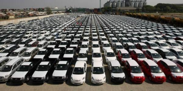3 Produsen Mobil Raih Hasil Positif di Tahun 2013
