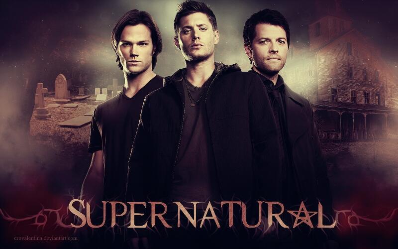 SUPERNATURAL SERIAL TV Season 1-9