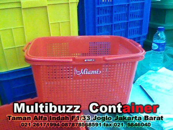 Terjual Raja Grosir Suplier Keranjang Container Plastik