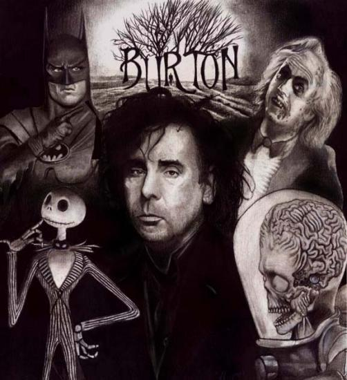Fussion Tim Burton and Jhonny Deep