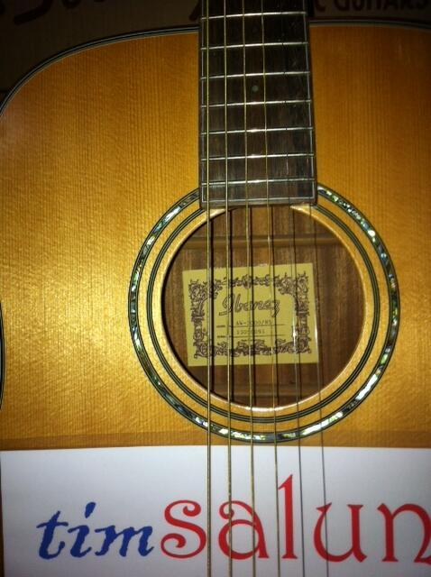 Terjual timSALUNG u0026gt;u0026gt;u0026gt; gitar akustik IBANEZ Art Wood Series AW3000NT kaskus price !!!  KASKUS