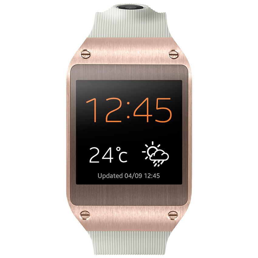 Terjual Samsung Galaxy Gear V700 Smartwatch Rose Gold Kaskus