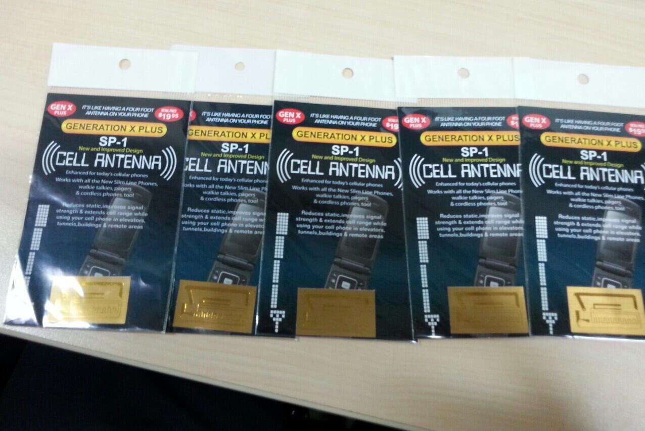 Jual Sticker stiker Penguat Sinyal Gen-X SP1 & Plus untuk HP/Handphone Modem Bandung