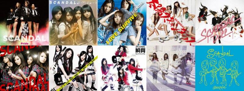 koleksi SCANDAL (music,video&concerts)
