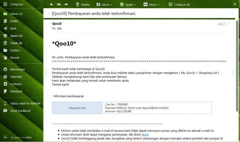 Hati- Hati Transaksi di www.qoo10.co.id A.K.A Giosis