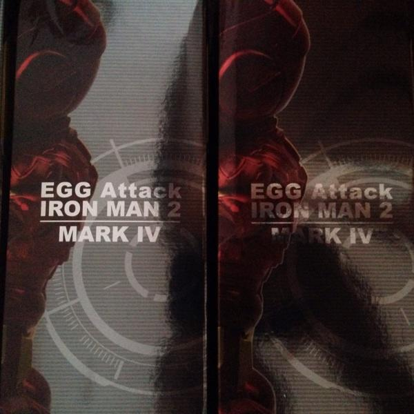 Egg Attack Iron Man Mark IV